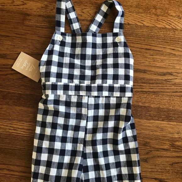 little cotton clothes Other - Little Cotton Clothes Short Gingham Romper